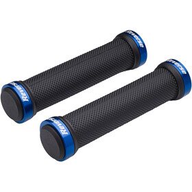 Reverse Classic Lock-On Grips black/blue